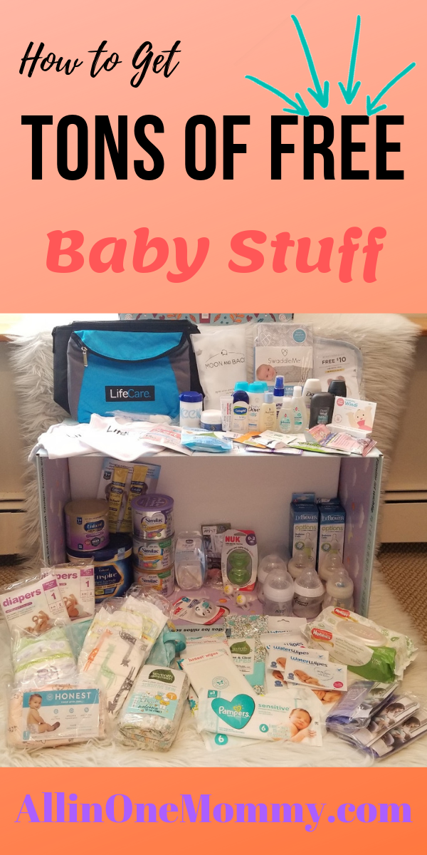 How To Get Tons Of Free Baby Stuff All In One Mommy